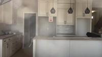 <p>Area dapur dibuat tanpa sekat, langsung terhubung dengan ruang makan. (Foto: YouTube Pandu Gultom)</p>