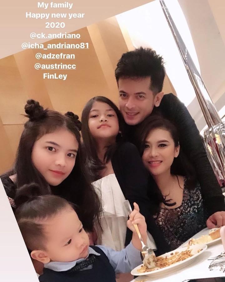 Choky Andriano dan Keluarga