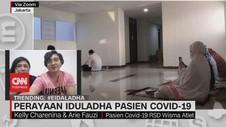 VIDEO: Perayaan Iduladha Pasien Covid-19