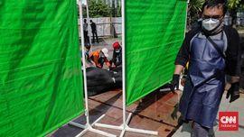 FOTO: Intip Penyembelihan Kurban di Tengah Masa PPKM