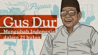 INFOGRAFIS: Jejak-jejak 21 Bulan Kepemimpinan Gus Dur