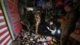 FOTO: Ledakan di Pasar Irak Jelang Iduladha, 35 Orang Tewas