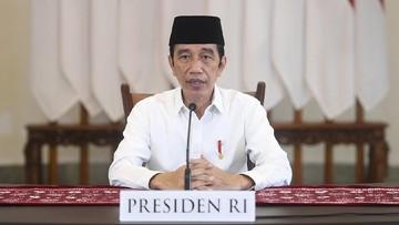 presiden jokowi memberi sambutan acara takbiran iduladha 3 169 - SatuPos.com