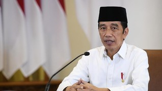 Jokowi Bicara Edutech hingga Hybrid Knowledge di Forum Rektor