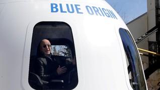 Petisi Tolak Bezos ke Bumi Gagal Usai 10 Menit di Antariksa