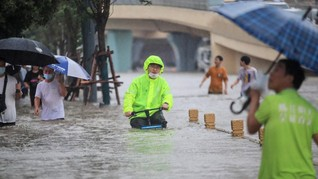 Badai-Banjir di Dunia, Efek Perubahan Iklim yang Kian Ganas
