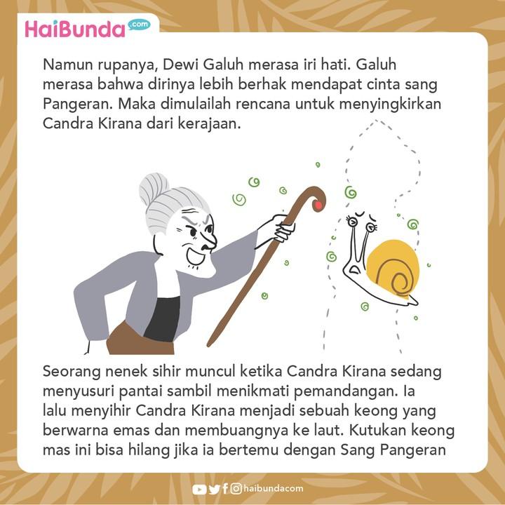 Cerita Nusantara Keong Mas
