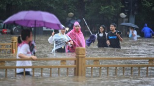 Banjir Bandang Terjang China, Kemlu Pastikan WNI Aman