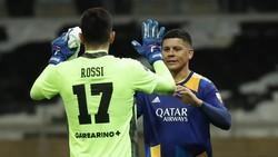 Ricuh Copa Libertadores: Marcos Rojo Pukul Petugas