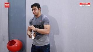 VIDEO: Mohammad Hamada, Lifter Pertama Palestina di Olimpiade