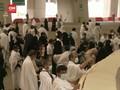 VIDEO: Jemaah Haji Lakukan Lempar Jumrah dengan Prokes Ketat