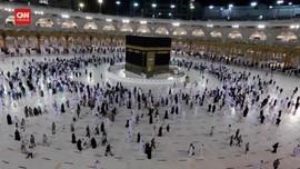 VIDEO: Jemaah Haji Lakukan Tawaf Ifadah Di Masjidil Haram