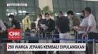 VIDEO: 260 Warga Jepang Kembali Dipulangkan