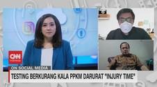 VIDEO: Testing Berkurang Kala PPKM Darurat