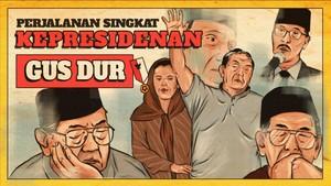 INFOGRAFIS: Jalan Singkat Kepresidenan Gus Dur