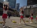 VIDEO: Aksi Pemandu Sorak Dukung Atlet Olimpiade Tokyo