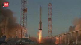 VIDEO: Rusia Luncurkan Roket ke ISS, Kirim Modul Laboratorium