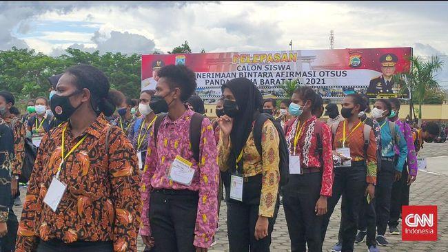 Kapolda Papua Barat mengatakan 1.500 orang asli Papua yang menjadi calon siswa bintara afirmasi Otsus terdiri atas 1.400 pria dan 100 perempuan.