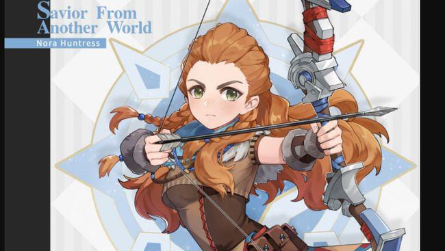 Karakter Aloy yang ada di game Horizon Zero Dawn bakal muncul di Genshin Impact pekan ini.