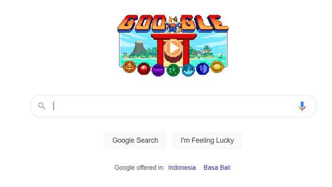 Berikut cara main game Google Doodle yang digelar untuk merayakan Olimpiade Tokyo 2020.