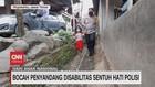 VIDEO: Bocah Penyandang Disabilitas Sentuh Hati Polisi