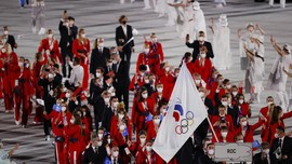 Aksi Ojigi Irlandia Tuai Pujian di Pembukaan Olimpiade Tokyo