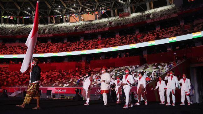 Indonesia dipastikan gagal mencapai target perbaikan peringkat pada Olimpiade Tokyo 2020 dari ajang sebelumnya di Olimpiade Rio de Janeiro 2016.