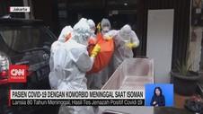 VIDEO: Pasien Covid-19 dengan Komorbid Meninggal Saat Isoman