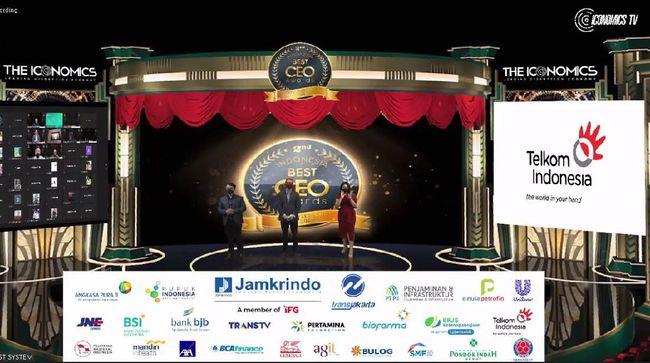 Direktur Utama TRANS TV & TRANS 7 Atiek Nur Wahyuni dinobatkan sebagai Best CEO in Media Category 2021 oleh The Iconomics.