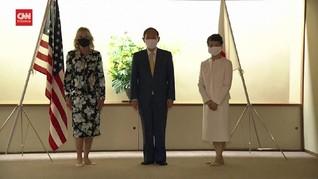 VIDEO: Jill Biden Temui PM Jepang Jelang Pembukaan Olimpiade