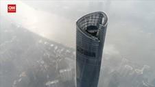 VIDEO: Hotel Dibangun Diatas Shanghai Tower