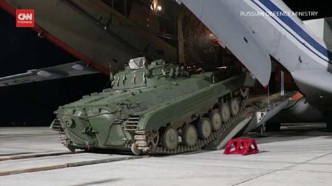 VIDEO: Rusia Kirim Tank ke Perbatasan Tajikistan-Afghanistan