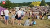 VIDEO: Festival Musik Inggris Tanpa Prokes Tapi Wajib Vaksin