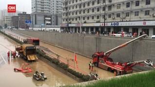 VIDEO: Hujan Reda, Banjir Henan China Mulai Dipompa