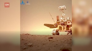 VIDEO: China Pamer Rute Perjalanan Robot Zhurong di Mars