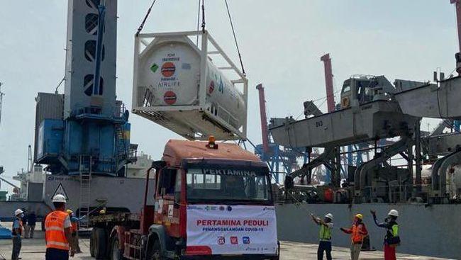 India memberikan bantuan oksigen cair dan konsentrator
