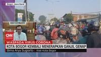 VIDEO: Kota Bogor Kembali Menerapkan Ganjil Genap