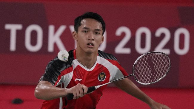 Jonatan Christie mengaku sempat gugup sebelum menyumbang poin bagi Indonesia yang mengalahkan Taiwan 3-2 di Thomas Cup 2021.