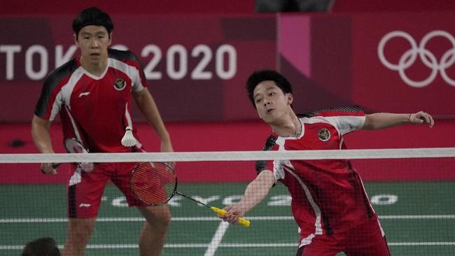 Kevin/Marcus Menang, Indonesia vs Denmark 1-1