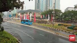 Jelang Sore, Tak Ada Aksi 'Jokowi End Game' di Sekitar Istana