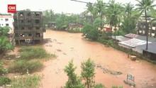 VIDEO: Banjir dan Longsor di India Tewaskan 112 Orang