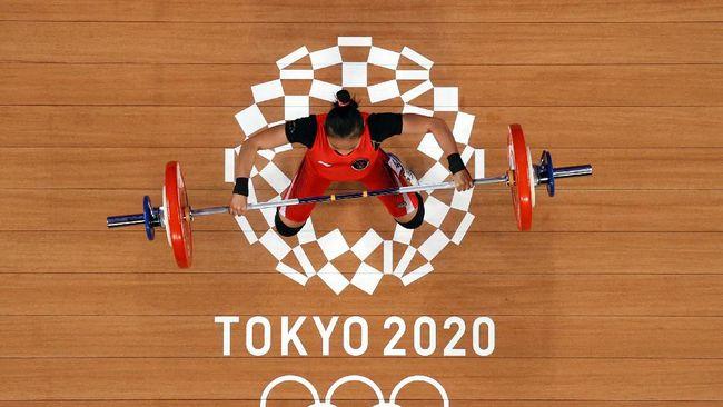 Windy Cantika Aisah mengaku sempat gugup saat tampil di nomor 49kg putri Olimpiade Tokyo 2020 pada Sabtu (24/5).