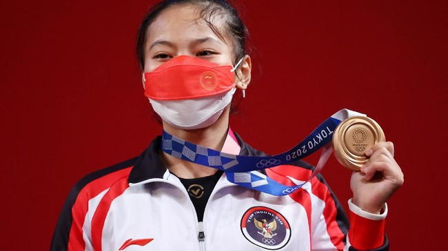 5 Fakta Windy Cantika Aisah Rebut Perunggu Olimpiade Tokyo