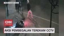 VIDEO: Aksi Pembegalan Terekam CCTV