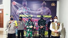 Ketua Satgas Covid-19 Tinjau RS Lapangan Bambanglipuro Bantul