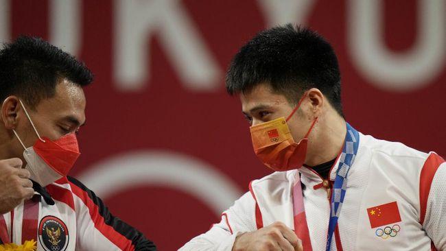 Lifter Indonesia Eko Yuli Irawan mengungkapkan alasan menaikkan beban hingga 12 kilogram di Olimpiade Tokyo 2020.