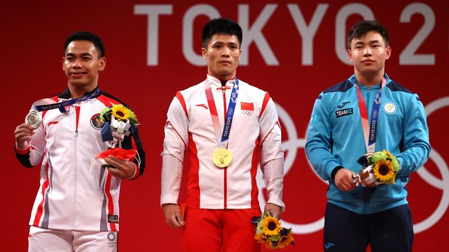 Jokowi: Selamat Eko Yuli Raih Medali Perak di Olimpiade Tokyo