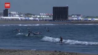 VIDEO: Debut Surfing di Olimpiade, Rio Waida Lolos 16 Besar