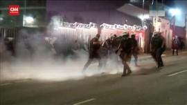 VIDEO: Demo Pemakzulan Presiden Brasil Diwarnai Bentrokan