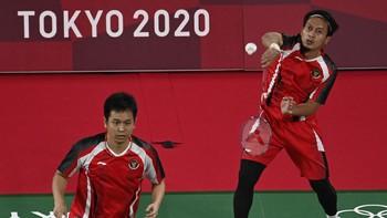 Ahsan/Hendra Kalahkan Ganda Malaysia di Olimpiade Tokyo